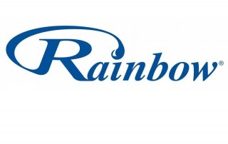 Rainbow vacuum cleaner logo